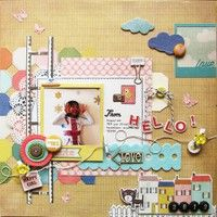 A Project by spica from our Scrapbooking Gallery originally submitted 01/30/13 at 08:32 PM