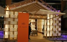 Hermes Pop Up Store #disruptiveretail #popup