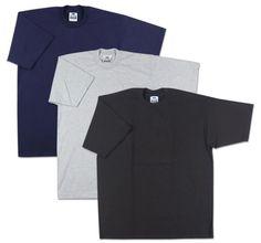 0f84e14a 10 New Men's Pro Club Heavyweight Plain T-Shirt 4XL - 4XL-TALL Blank