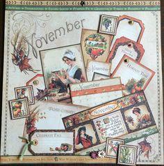 Perpetual Calendar pt. 3 – Place in Time: November | Creator's Image Studio