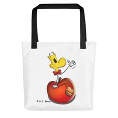A spacious and trendy tote bag to help you carry around everything that matters. Good Energy, Reusable Tote Bags, Smiley, Clothing, Outfits, Emoticon, Dresses, Clothes