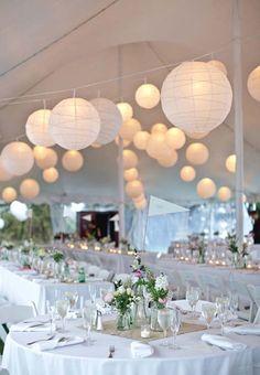 Decorate with Paper Lanterns | Arabia Weddings