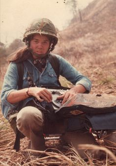 """Pamela Yates working in Guatemala on her documentary """"When the Mountains Tremble"""" in 1982."""