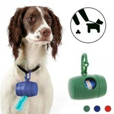 BigBuy Pets Dog Poop Bag Holder (with 15 Bags) Keep the street clean when you take out your dog for a walk thanks to this convenient dog poop bag holder (wit. Love Your Pet, Your Dog, Pet Trainer, Dog Water Bottle, Led Dog Collar, Pet Bag, Pets For Sale, Pet Collars, Dog Leash