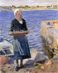 Christian Krohg (1852 – 1925, Norwegian)