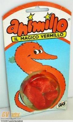 """Questa è una chicca: ricordate """"Animillo, il magico Vermillo""""? Gig anni '80."""