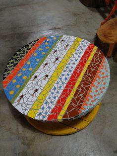 mesa carretel