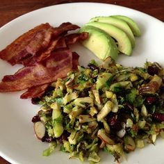 Worthy Pause: Paleo Chorizo Brussels Sprout Slaw (and other slaws) #paleo #whole30