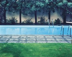 Hockney Painted This Pool, 1980, © Bill Owens, PDNB Gallery, Dallas Was in museum exhibition Palm Springs California pools
