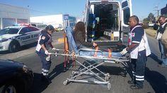 Mujer resulta con lesiones leves luego de ser atropellada frente a la dirección de la policía vial | El Puntero