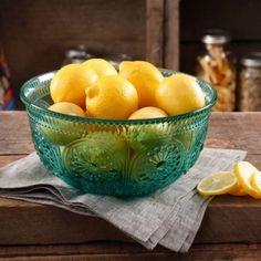 "The Pioneer Woman Adeline 9"" Turquoise Glass Serving Bowl... https://www.amazon.com/dp/B01LD1347A/ref=cm_sw_r_pi_dp_x_7YRkyb2AAZCVA"