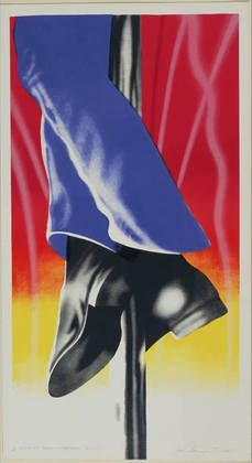 James Rosenquist (American, born Title: Expo 67 Mural Firepole, 1967 Medium: Prints and multiples, color lithograph Edition: 50 Size: 34 x 19 in. x cm. Postmodern Art, Expo 67, Cultura Pop, Psychedelic Art, Conceptual Art, Artist Painting, American Artists, Pop Culture, Pop Art