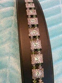 swarovski slider bracelet by -tinkerbell8228-Melissa