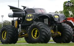I Said Sit In The Back, Robin!: Batmobile Monster Truck