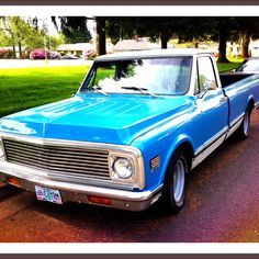 This is my baby! 71' Chevy C-10