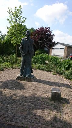 Statue of Rudolph Agricola at Baflo Netherlands, Dutch, Statue, History, Pictures, Travel, The Nederlands, Photos, The Netherlands