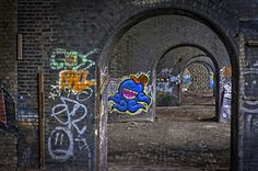Graffiti Archways - Manchester