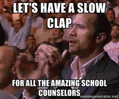 Happy School Counselor Week Y'all! Here are some fun Memes to celebrate. Hope you know how much you are appreciated!