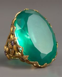Stephen Dweck Large Agate & Delphinium Ring - Neiman Marcus