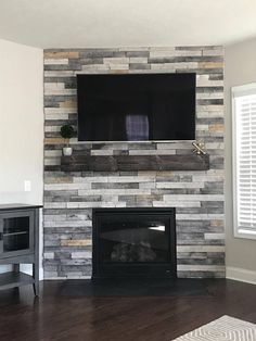 Fireplace Mantel-Floating Shelves-Mantel-Fireplace Mantle-Fireplace Decor-Wood Shelves-Home Decor-Farmhouse Decor-Wall Decor-Rustic Decor