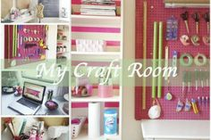 This is SO incredibly organized and wonderful!! Love this craft room!