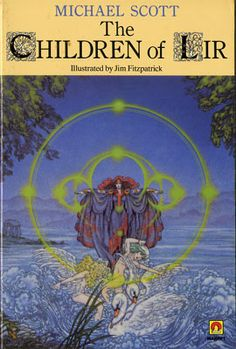 The Children of Lir was a revised and expanded version of the previous book.  The cover here is by the legendary Jim Fitzpatrick.