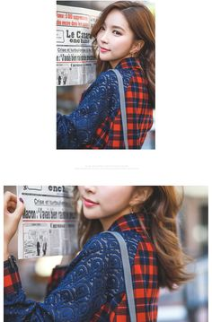 Styleonme_Lace & Checked Batwings Shirt #shirt #blouse #batwings #checked
