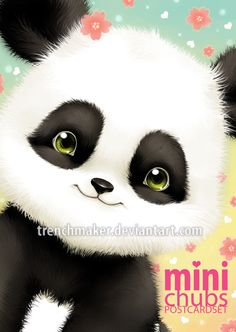 Mini+Chubs+Peek-a-boo! Panda +by+trenchmaker.deviantart.com+on+@deviantART