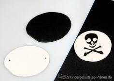 Augenklappen sind das bevorzugte Accessoire von kleinen Piraten - wild und…