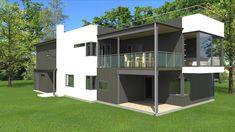 Bilderesultat for flatt tak takterrasse Flat Roof, Shed, Outdoor Structures, Mansions, House Styles, Home Decor, Decoration Home, Manor Houses, Room Decor