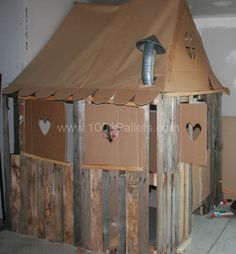 A Duplex for my kids | 1001 Pallets