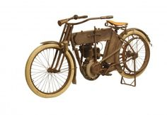 "George Pardos Collection ""Evolution of the Harley-Davidson Motorcycle"" 1911 Harley Davidson 7A Single"