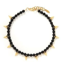 Love this: Stud Bead Necklace @Lyst