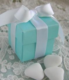 Wedding Gift For Bride Tiffany : ... Candy (8 Box Colors) by FavorIdeas. Tiffany themed bridal shower! More