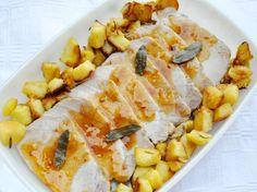 Arista di maiale all'aceto di mele - Pork with apple vinegar