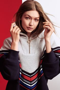 Gigi Hadid and Tommy Hilfiger Unveil a New Racing-Inspired Collection - HarpersBAZAAR.com