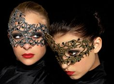 Abstract masks.