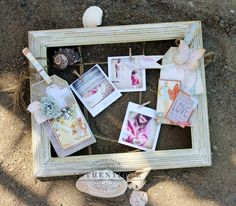 Altered Picture Frame by Authentique Paper Design Team Member Angie Blom
