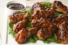 Asian Honey BBQ Chicken Drumettes