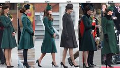 Kate in Green for St. Patrick's Day with the Irish Guards - What Kate Wore