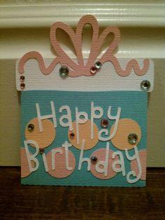 tutorial on making a birthday card