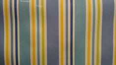 Tafelzeil strepen geel wit blauw | VIA CANNELLA KOOKWINKEL | CUIJK | www.viacannella.nl|