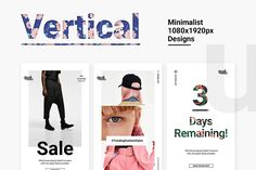 Ad: QUE - Fashion & Retail Social Media by NordWood on Meet Que - A Minimalist Fashion Social Media Design Pack Que is a minimalist and clean, highly usable, multi purpose media post pack. Social Media Template, Social Media Design, Minimalist Layout, Youtube Channel Art, Banner Template, Photo Library, Text Color, Cover Photos, Instagram Story