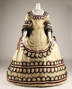 #victorian #Dress  1868