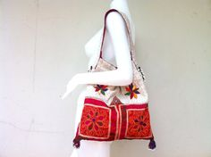 Ethnic Afghan Suzni Cool Boho Hip Shoulder Bag by orientaltribe11, @Sold out