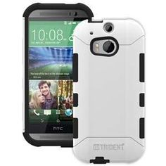 Trident Aegis Case for HTC One M8 - White