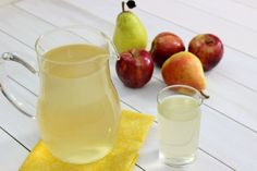 Apple-Pear Kompot (Fruit Drink) Яблочно-Грушевый Компот - Sure miss drinking compote with our many precious friends in Ukraine!