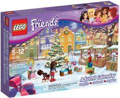 LEGO Friends Advent Calendar 41102 is super fun for LEGO Friends fans at Christmas time. 24 LEGO Friends minifigures in an Advent Calendar Lego City Advent Calendar, Advent Calendar Gifts, Advent Calenders, Lego Toys, Lego Duplo, Fairground Games, Van Lego, Lego Friends Sets, Lego Gifts
