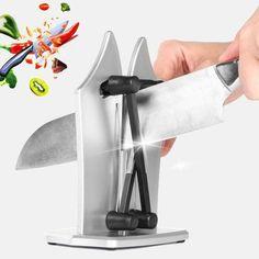 Kitchen Knife Sharpening, Sharpening Stone, Fuzzy Chair, Professional Knife Sharpener, Professional Kitchen Knives, Butcher Knife, Types Of Knives, Preserving Food