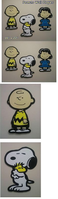Other Nursery Wall D cor 20430: Snoopy Combo Charlie Brown With Lucy Wall Decor -> BUY IT NOW ONLY: $39.8 on eBay!